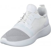 Calvin Klein Jeans Meryl Silver/white, Skor, Sneakers & Sportskor, Sneakers, Vit, Dam, 41
