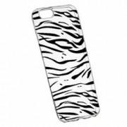 Husa Silicon Transparent Slim Zebra 134 Apple iPhone 6 PLUS 6S PLUS