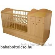 Kinder Möbel BOGI 60x120 cm kombiágy Bükk