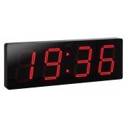 Velké svítící digitální moderní hodiny JVD DH1.1 s červenými číslicemi
