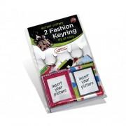 Adventa Fashion Keyring Twin Pack