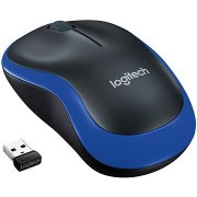Logitech Wireless Mouse M185 kék