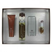 Perry Ellis M Eau De Parfum Spray + Deodorant Stick + After Shave Gel + Mini EDT Spray Gift Set Men's Fragrance 456959