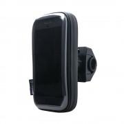 Interphone - Samsung Galaxy Note 9 Motorhouder Unicase Telefoonhouder Fiets en Motor Stuur Zwart