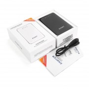A86 Eaget Wireless WIFI USB 3.0 Disco Duro De 1 TB Con 3G Router 3000mA Negro De La Batería