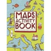 Maps Activity Book, Paperback/Aleksandra Mizielinska