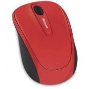 Безжичкна мишка - Microsoft Wireless Mobile Mouse 3500 USB ER English Flame Red Gloss Retail - GMF-00195