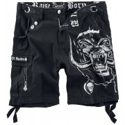 Motörhead EMP Signature Collection Girls broek (kort) zwart