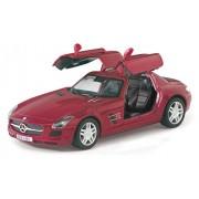 Playking Kinsmart 5'' Die Cast Metal Mercedes-Benz SLS AMG, Pack of 1, Color May Vary