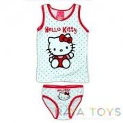 Детски комплект Hello Kitty бяло и синьо Disney