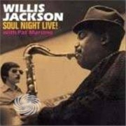 Video Delta Jackson,Willis - Soul Night Live! With Pat Martino - CD