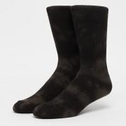 SNIPES Tiedye Crew Socks (2 Pack) - Zwart - Size: 35-38; unisex