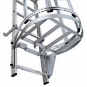Hailo Professional Hailo Schwenkverschluss DIN Aluminium, links für Zylinderschloss