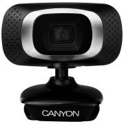 Web kamera Canyon CNE-CWC3, 2Mpix, 1080P Full HD Crna **