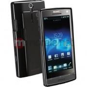 Husa telefon cellular line socant (Sony Xperia S) Negru