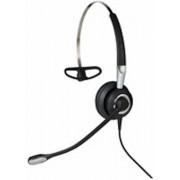 Jabra BIZ 2400 II USB Mono BT MS Monauraal Hoofdband Zwart, Zilver hoofdtelefoon