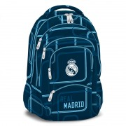Ghiozdan Ergonomic Scoala Real Madrid Future cu 5 compartimente 47 cm