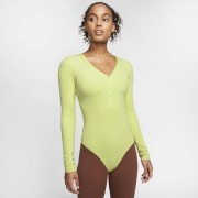 Nike Body a manica lunga Nike Yoga Luxe - Donna - Verde