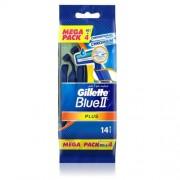 Gillette Jednorázová holítka Blue2 Plus 14 ks