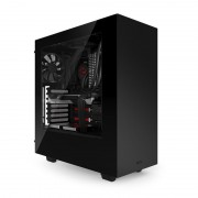 NZXT Source S340 - Tour midi - ATX - pas d'alimentation - noir - USB/Audio