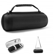 Portable Storage Case Bag Dirtproof Carrying Box Bag for JBL pulse4/JBL pulse3/JBL charge4 Bluetooth Speaker - Grey