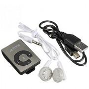 Mini MP3 Player Clip USB Supports upto 32GB Micro SD card
