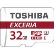 Card de memorie Toshiba Exceria M302 microSDHC 32GB UHS I U3 90MB/s + Adaptor SD