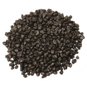 Pietre decor acvariu negru, 2,5 kg