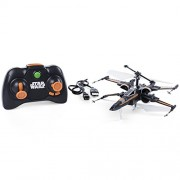 Air Hogs - Poe's Boosted X-wing Fighter, Single Rotor Star Wars, Toy Jet