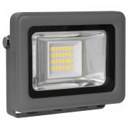 LED bouwlamp 10W 680 lumen 3000K antraciet