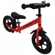 """Capetan® Energy Plus Piros színű 12"""" kerekű futóbicikli sárhányóval és csengővel - pedál nélküli gye"""