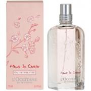 L'Occitane Fleurs de Cerisier Eau de Toilette para mulheres 75 ml