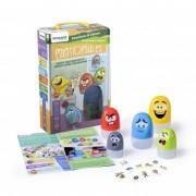 Joc educativ Cutiutele cu Sentimente Miniland, 6 capsule, 10 carti, 2 ani+