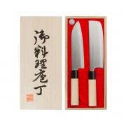 Satake Houcho knivset allroundkniv + grönsakshack, satake