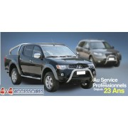 HARD TOP ABS ISUZU D-MAX DBLE CAB SANS VITRES LATERALES - accessoires 4X4 m...