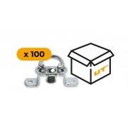Set: Anhänger-Drehverschluss x100 (19.51.5)