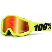 100% Accuri Extra Los niños gafas de Motocross Amarillo un tamaño