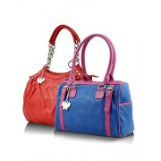 Butterflies Handbag (Multi-Color) (BNS CB021)
