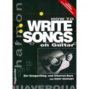 Voggenreiter How to write Songs on Guitar Teoria musical