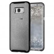 Capa Spigen Neo Hybrid Crystal Glitter para Samsung Galaxy S8+ - Preto
