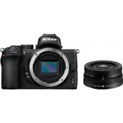 Nikon »Z50 DX 16-50 mm 1:3.5-6.3 VR« Systemkamera (DX 16-50mm 1:3.5-6.3 VR, 20,9 MP, WLAN (Wi-Fi), Bluetooth)