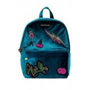 Betsey Johnson Babys Got Back Velvet Backpack BLUE