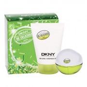 DKNY DKNY Be Delicious confezione regalo Eau de Parfum 30 ml + 100 ml lozione per il corpo donna
