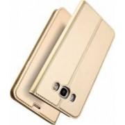 Husa flip wallet Dux Ducis Samsung Galaxy J5 2016 J510FN Auriu
