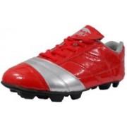 Port Glaxy-NitroStud Football Shoes For Women(Red)