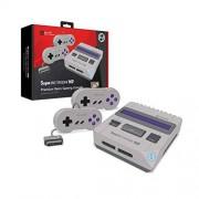 Hyperkin M06888 Gris, Violeta juego de PC Videoconsolas (NES / SNES, Gris, Violeta, NTSC,PAL, 102 mm, 279 mm, 203 mm)