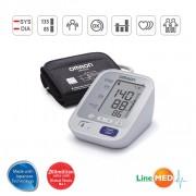 Tensiometru OMRON M3 INTELLISENSE - 2 utilizatori, validat clinic, LED-uri avertizare, 3 ani garantie