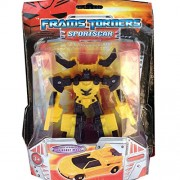 Aditya Info™ Transformers Autobot Yellow Convertible in CAR