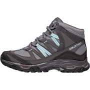 Salomon MUDSTONE MID 2 GTX W Hiking & Trekking Shoes For Men(Grey)