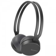 Слушалки Sony Headset WH-CH400, Bluetooth/NFC, Google/Siri voice assistant, black, WHCH400B.CE7